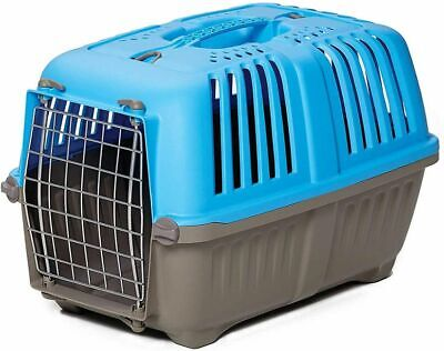 Travel Cage Crate Portable Small Dog Kennel Green Pet Cat Kitten Puppy Carrier