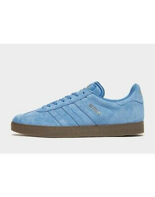 Latest Adidas Original Gazelle Men's Trainers(UK 13 )Blue Gum Brand New