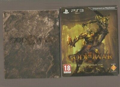 Rare !!! GOD OF WAR : Edition Collector. Jeu Culte sur PS 3