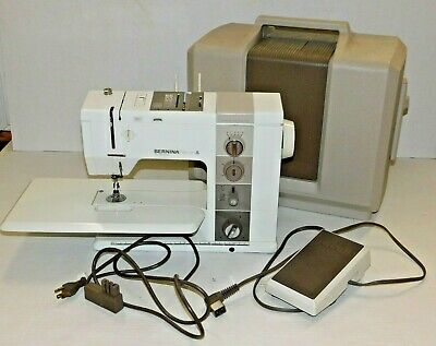 Bernina Record 930 Electronic Sewing Machine Case Table Foot + Knee Controller