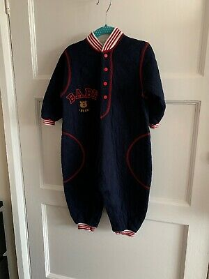 Vintage 1990s St Michael M&S All In One Romper 12-18 Months