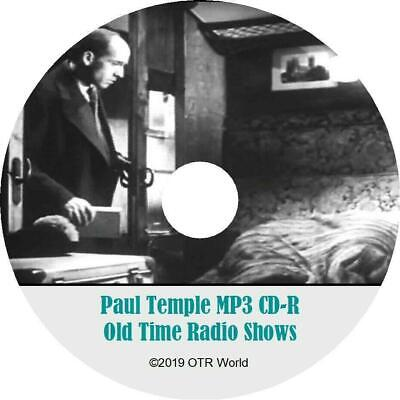Paul Temple (BBC) Old Time Radio Shows OTR MP3 On CD 66 Episodes