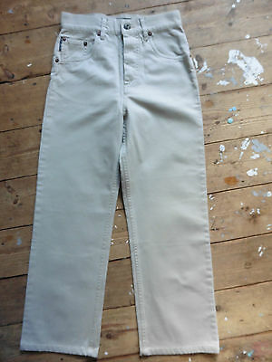 """French Connection Cotton Trousers /Jeans 22"""" waist  22.5"""" leg Pristine Condition"""