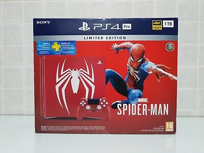 Limited Edition Marvel's Spider-Man PlayStation 4 (PS4) Pro Bundle: BRAND NEW!
