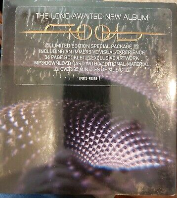 "TOOL Fear Inoculum DELUXE Limited Edition CD 4"" HD Screen - In Hand Sealed New"