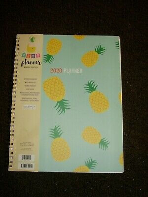 2020 PLANNER   LARGE SPACES 9 X 11  inches approximately
