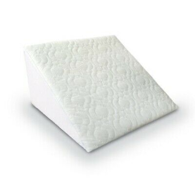 Reclining Quilted Orthopedic Back Support Foam Bed Wedge Pillow Aid Reliever
