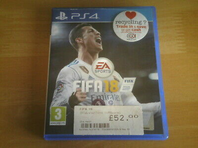 EASports - FIFA 18 (PS4) Sony PlayStation 4 - Official Licensed Football Game.