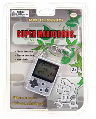 Nintendo Super Mario Bros Brothers Mini Classic Keychain Video Game Gameboy SEAL