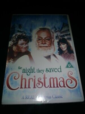 The Night They Saved Christmas Jaclyn Smith,Art Carney. U.s Seller Free Shipping