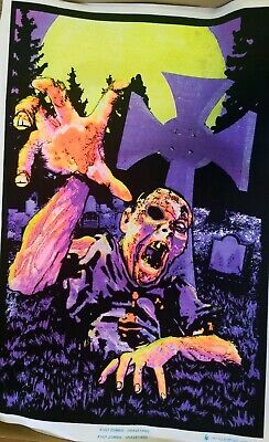 Zombie Graveyard  Blacklight Poster - 24X36  1921