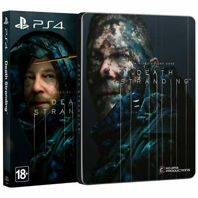 *NEW* Death Stranding. Special Edition (PS4, Steelbook, 2019) English, Russian