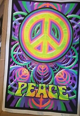 Peace Blacklight Poster - 24X36  1873