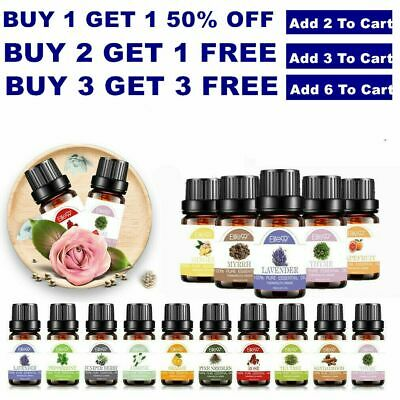 10ml Essential Oil 100% Pure Aromatherapy For Essential Oils Diffuser Fragrance