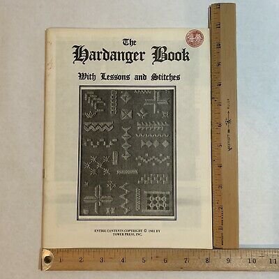 The Hardanger Book with Lessons and Stitches 1981 by Tower Press, Inc.