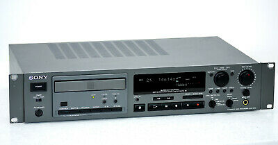 SONY CDR-W33 Professional Broadcast Studio CD Recorder! Top-Zustand+1J.Garantie!