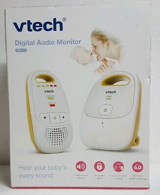 VTech - Safe And Sound Digital Audio Baby Monitor - DM111 New