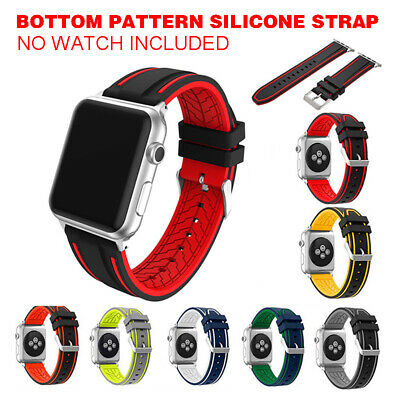 Sports Correa para Apple Reloj Banda Iwatch 4/3/2/1 42/44mm Gel Pulsera