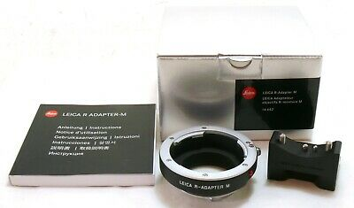 Leica R - Adapter M 14642 M240 boxed MINT- #35039