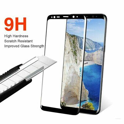 For Galaxy S8 S8+ Plus 4D Tempered Glass Full Cover Screen Protector