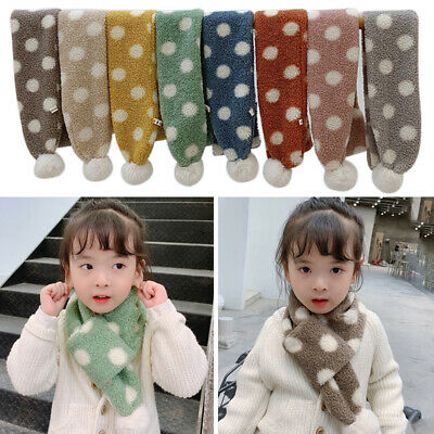 Baby Boys Girls Winter Warmer Scarf Infant Collar Scarves Toddler Neckerchiefs