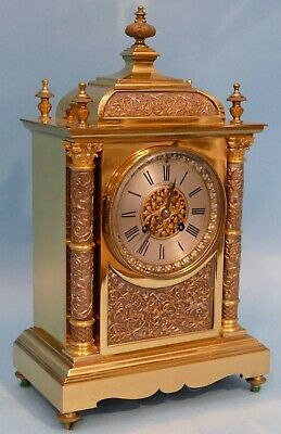 Quality Antique Mantle Clock Joseph Penlington Of Liverpool