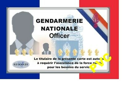 France ID COLLECTOR CARDS <<GENDARMERIE NATIONALE>>