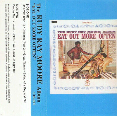 """The Rudy Ray Moore Album """"Eat Out More Often"""""""