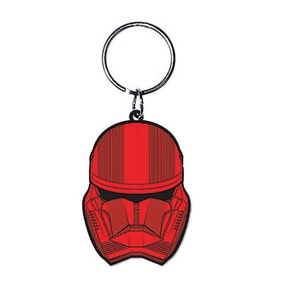 Genuine Star Wars Sith Trooper The Rise of Skywalker Rubber Keyring Key Fob