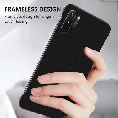 For Samsung Galaxy Note 10 Plus S10 S9 Ultra-thin Frameless Hard Slim Case Cover
