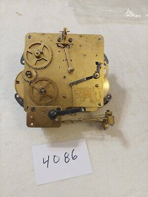 Seth Thomas  Tambour Mantle Clock Westminster Chimes Movement