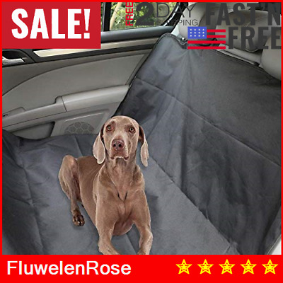 Waterproof Dog Car Seat Cover Hammock for Pet SUV Van Back Rear Bench Pad Mat