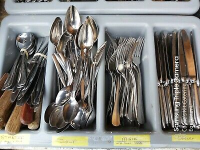 Cutlery Sets Eternum 18/10 Stainless Knives Forks Steak Knives Spoons 225 Piece