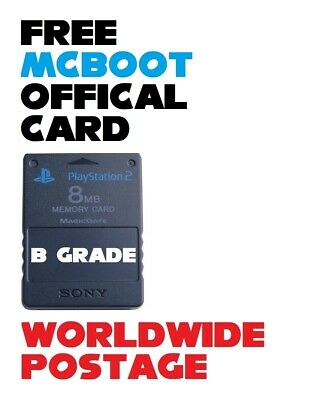 *B GRADE* ULTIMATE! FMCB (Free Mcboot) Latest Version 1.966 / Official 8MB PS2
