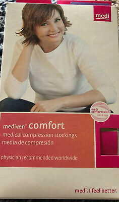 Mediven Comfort Medical Compression Stockings  15-20  Small  Chocolate