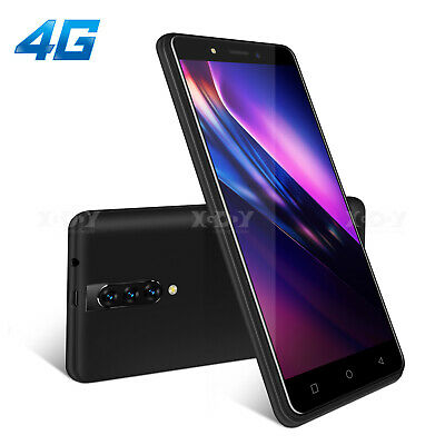 """Dual SIM Free Mobile Phone Unlocked Android 9.0 Smartphone 5.5"""" 16GB 4Core 4G 3G"""