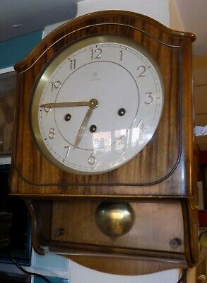 Vintage Westminster Junghans Chime wall Clock made in Germany
