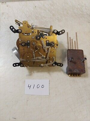 Jauch Westminster Chime Bracket Mantle Clock Movement And Chime Bar