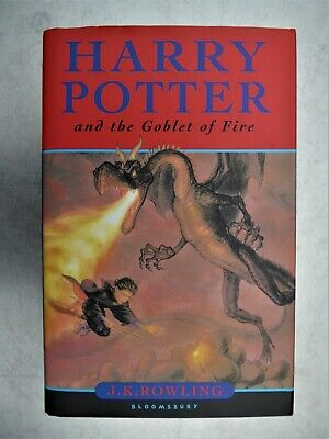 Harry Potter and the Goblet of Fire 1st. edition 2000.