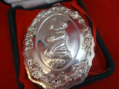 Vintage Francis I By Reed & Barton Sterling Silver 1999 3 Kings Ornament #8044