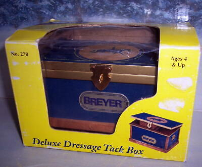 Breyer Deluxe Dressage Tack Box  #278 (New Never Taken Out Of Box)