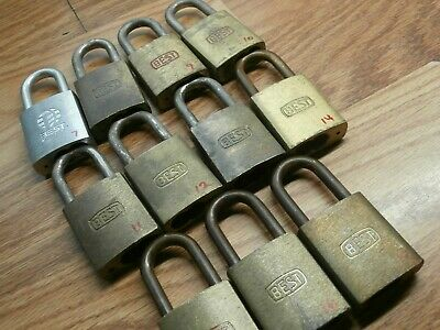 BEST Padlocks SFIC With  IC Cores 2-oper & 1 Control key keyed to your SPECS