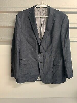Brooks Brothers Explorer Regent Fit Men's 44R Charcoal Wool Blazer Jacket Sport
