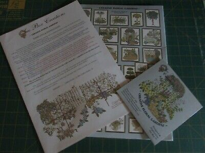 Machine Embroidery Multi Format CD- Creative Floral Gardens-Sue Box