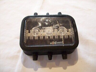 10 Way rubber  Junction Box for Trailer/Truck/Lorry 6 inlets FREE P&P