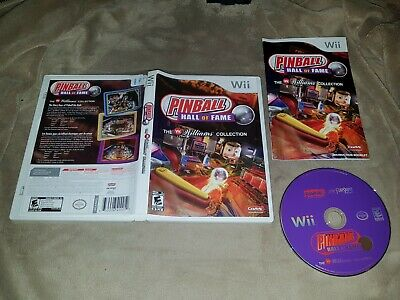 Pinball Hall of Fame Williams Collection (Nintendo Wii) - Complete - NTSC
