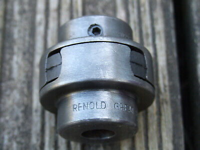 "Renold Flexible Coupling For 1/2"" Shaft  Pat.486803"