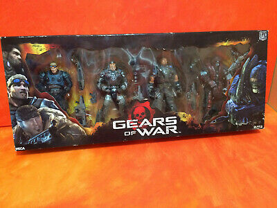 Gears of War GoW Series 2 RARE Full Box Set First Edition DOM FENIX THERON BAIRD