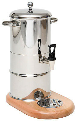 Piazza - Dispenser Electric of Drinks Warm in Wood Hot Drinks Dispenser