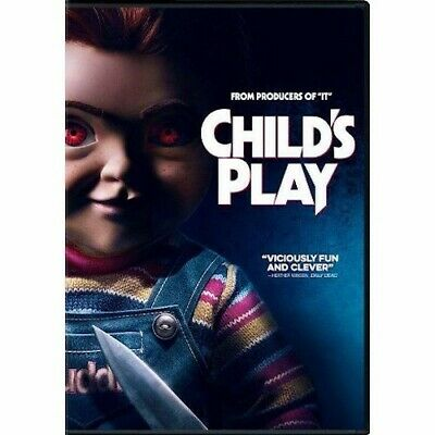 Child's Play DVD 2019 New & Sealed Free Shipping Included